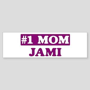 Jami - Number 1 Mom Bumper Sticker