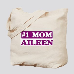 Aileen - Number 1 Mom Tote Bag