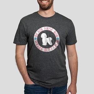 Bichon Frise Mom Wiggle Butt Club T-Shirt