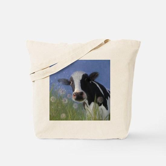 Unique Cow Tote Bag