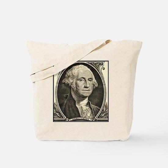 George Washington, $1 Portrait Tote Bag