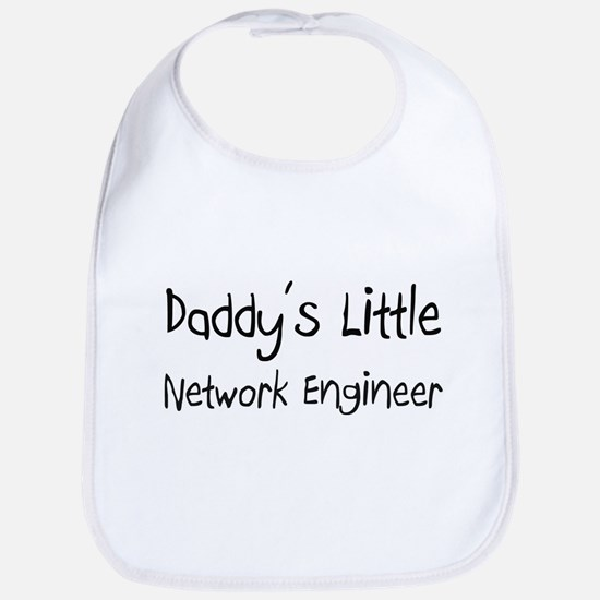 Daddy's Little Network Engineer Bib