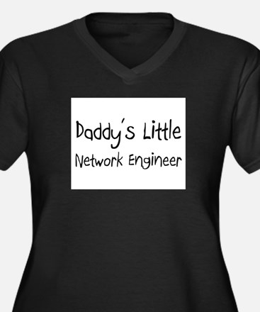 Daddy's Little Network Engineer Women's Plus Size