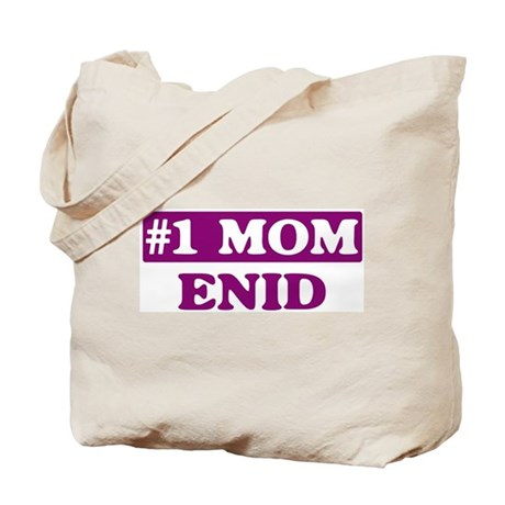 Enid - Number 1 Mom Tote Bag