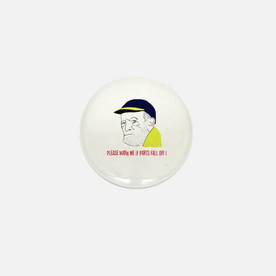 Old Man Mini Button
