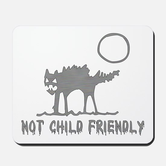 Not Child Friendly Mousepad