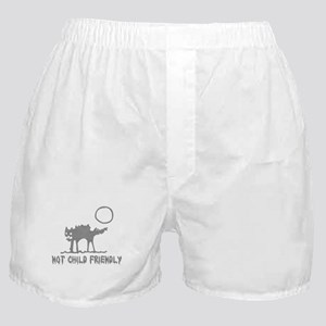 Not Child Friendly Boxer Shorts