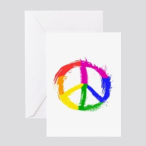 Peace Sign Greeting Cards