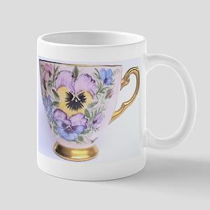 Pansy Teaparty Mug