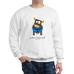 y now brown cow Sweatshirt
