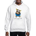 y now brown cow Hooded Sweatshirt