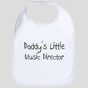Daddy's Little Music Director Bib