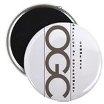 """The Orifice of Government Commerce 2.25"""" Magnet (1"""