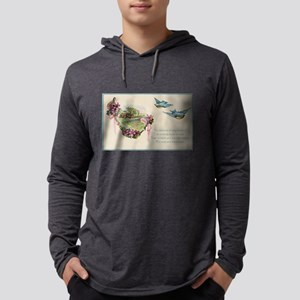Vintage Mother's Day Bluebirds Long Sleeve T-Shirt