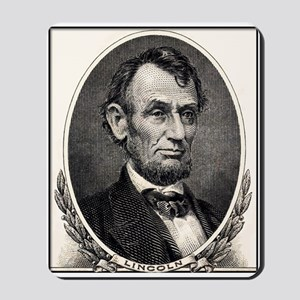 Abe Lincoln portrait Mousepad