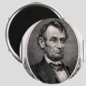 Abe Lincoln portrait Magnet