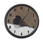 Dark-Eyed Junco Large Wall Clock