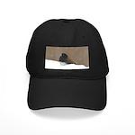Dark-Eyed Junco Black Cap with Patch