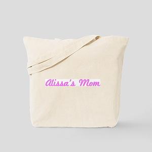 Alissa Mom (pink) Tote Bag