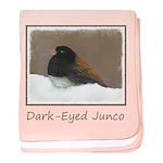 Dark-Eyed Junco baby blanket