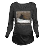 Dark-Eyed Junco Long Sleeve Maternity T-Shirt