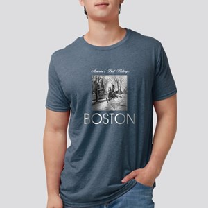 boston Mens Tri-blend T-Shirt