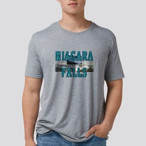 niagarafalls Mens Tri-blend T-Shirt