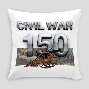 civilwar150 Everyday Pillow
