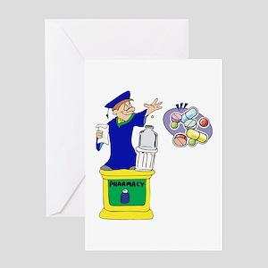 Magical Pharmacist Graduate Greeting Card