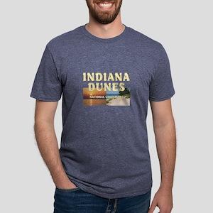 indianadunes Mens Tri-blend T-Shirt