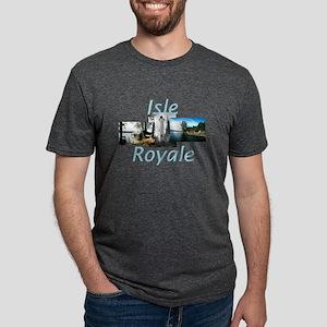 isleroyale2.png Mens Tri-blend T-Shirt