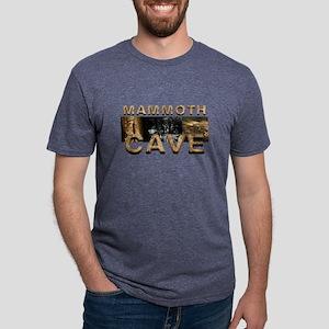 mammothcave Mens Tri-blend T-Shirt