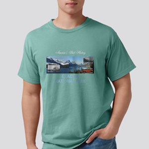 ABH Glacier National Pa Mens Comfort Colors® Shirt