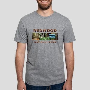 redwoodcaptran.png Mens Tri-blend T-Shirt