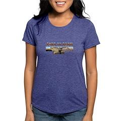 sandtosnow Womens Tri-blend T-Shirt