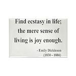 Emily Dickinson 20 Rectangle Magnet (10 pack)