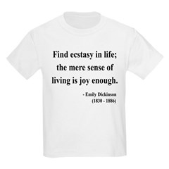 Emily Dickinson 20 T-Shirt