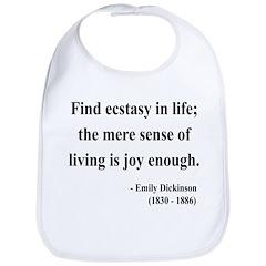 Emily Dickinson 20 Bib