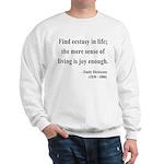 Emily Dickinson 20 Sweatshirt