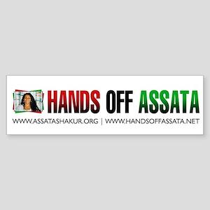 Hands Off Assata Bumper Sticker