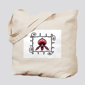 Wire Frame Orchid Tote Bag