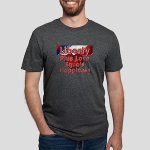 libertyplus Mens Tri-blend T-Shirt