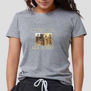 cowgirlos2tran.png Womens Tri-blend T-Shirt