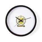 d'ALLARD Family Crest Wall Clock