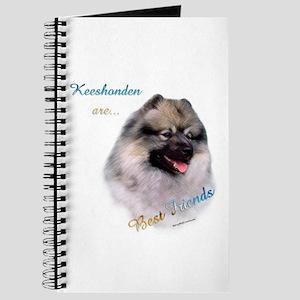 Keeshond Best Friend 1 Journal