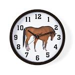 Love My Horse Wall Clock