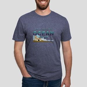 timeoceanme1.png Mens Tri-blend T-Shirt