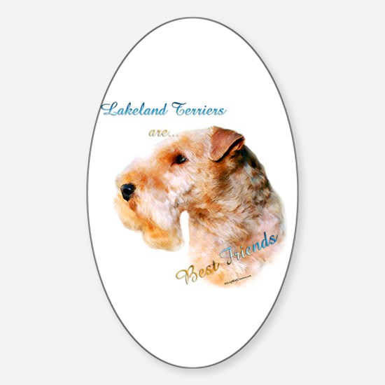 Lakeland Best Friend 1 Oval Decal