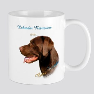 Choclate Lab Best Friend 1 Mug