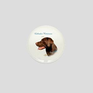 Choclate Lab Best Friend 1 Mini Button